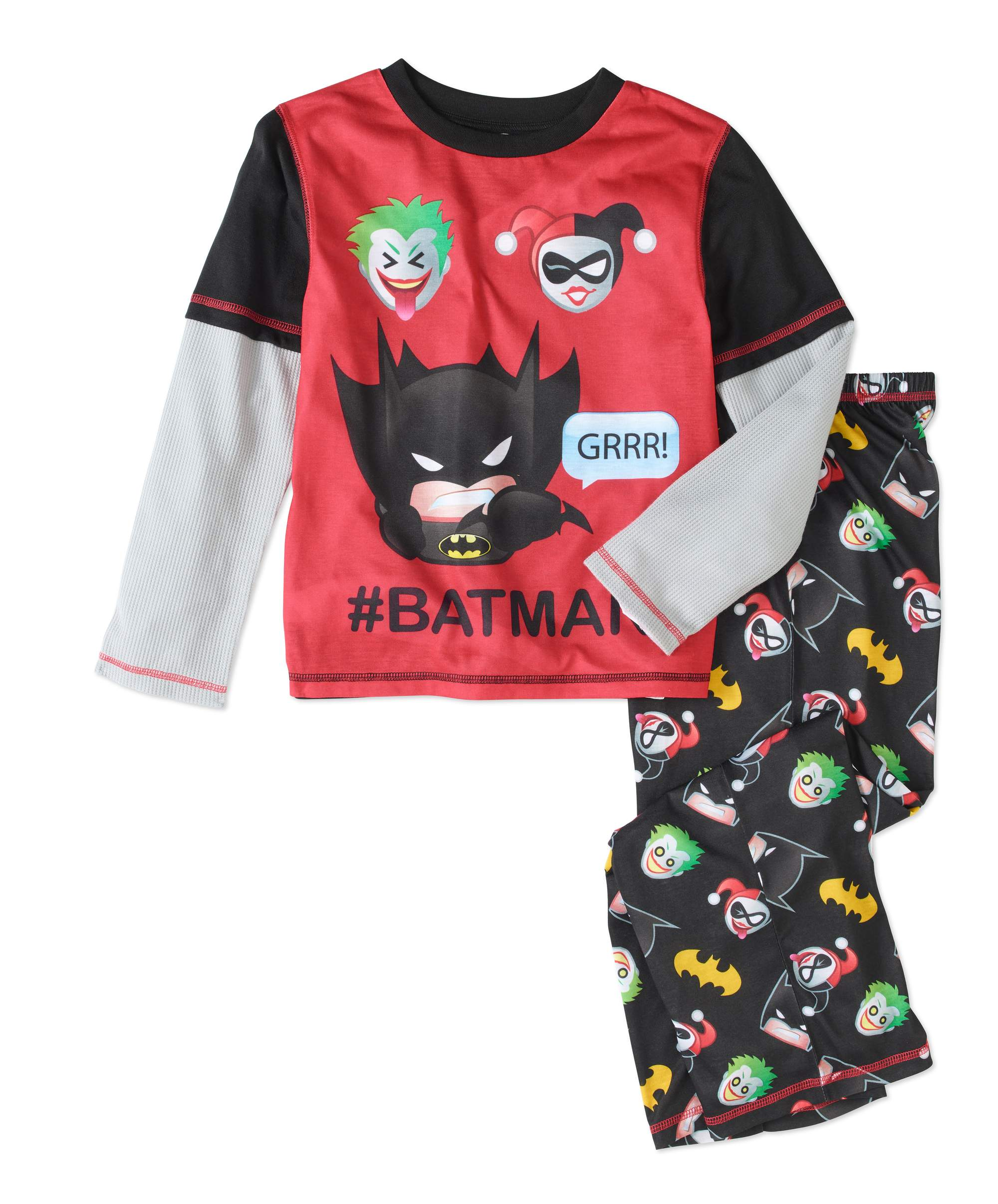 Batman Boys' 2pc Pajama Set by Komar Kids