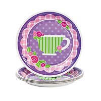 Girly Tea Party Dessert Plates 8 pc by Fun Express