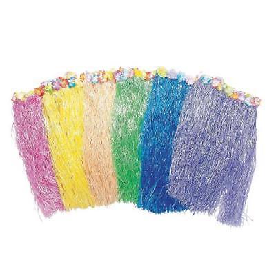 IN-34/164 Adult's Floral Hula Skirt Assortment Per Dozen
