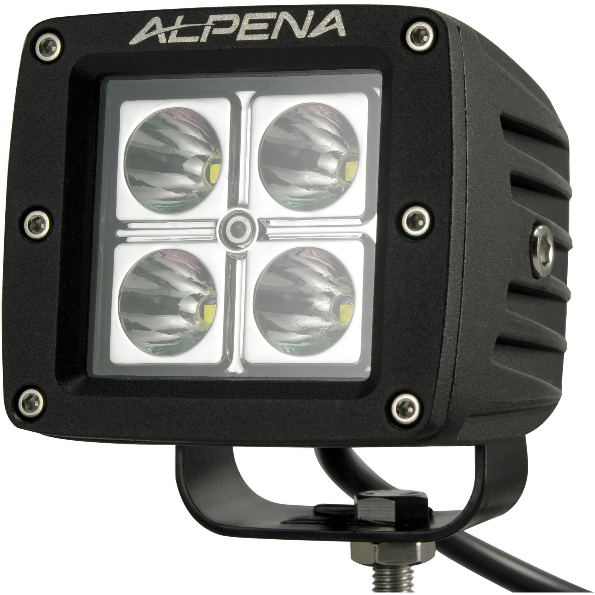 Alpena Vehicle Quadfire LED Pod Light, White