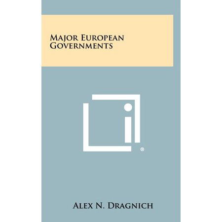 Major European Governments -  Literary Licensing