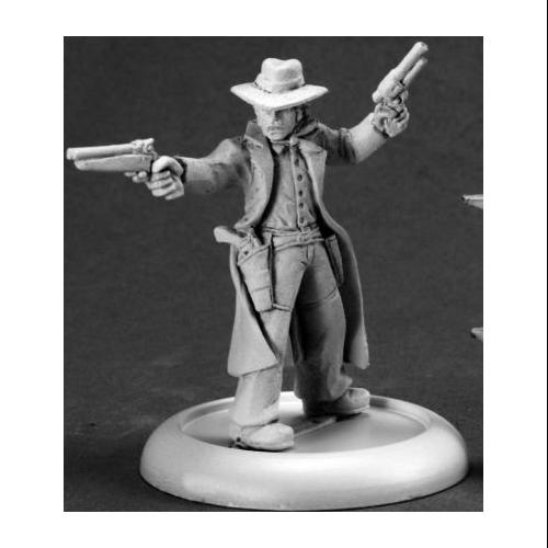 Chronoscope: Hank Callahan, Gunslinger Miniature Multi-Colored