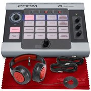 Best Vocal Harmony Processors - Zoom V3 Vocal Processor, Effects Pedal, Battery Powered Review