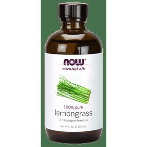 NOW Lemongrass Oil, 4 Fl Oz