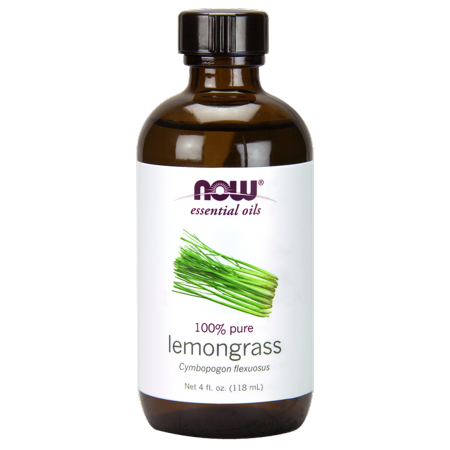 NOW Lemongrass Oil, 4 Fl Oz