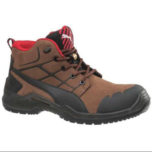 Puma Safety Size 10 Composite Toe Work Boots, Men's, Brown ...