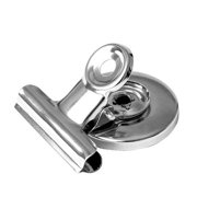totalElement 1.25 Inch Magnetic Bulldog Clip, Office/Refrigerator Ferrite Magnet (24 Pack)