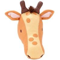 Giraffe Plush Head Wall Decor