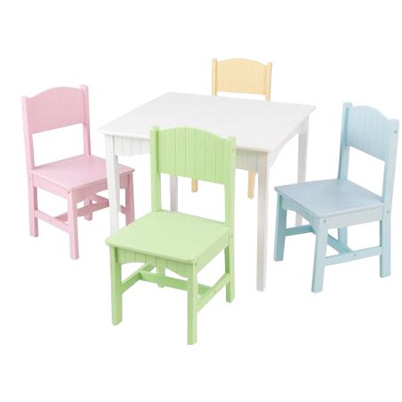 Kidkraft Nantucket Table And Chairs Set Multiple Colors