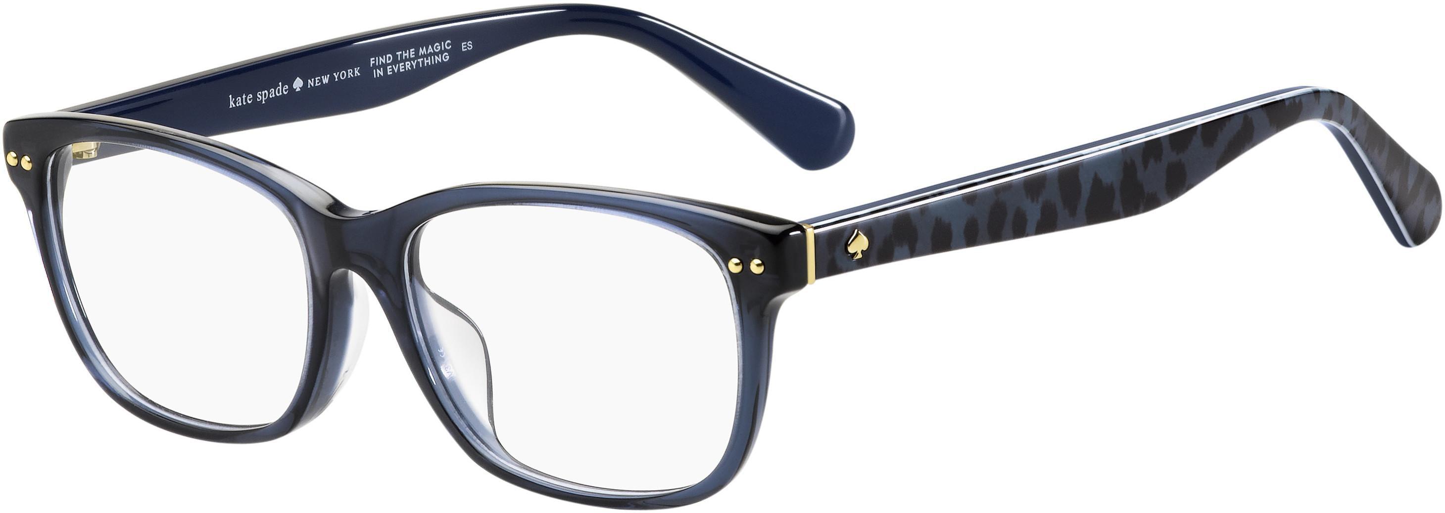 Kate Spade Ks Cailin Eyeglasses 0x0d Violet Marbleme Walmart Com Walmart Com