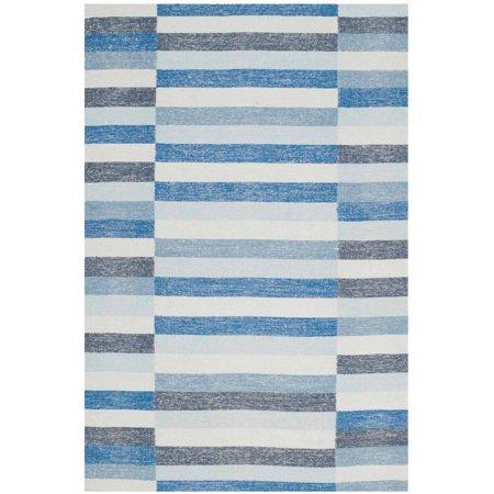 Safavieh Striped Kilim Karena Hand Woven Wool Area Rug ()