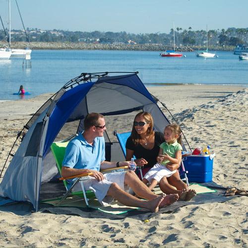 Lightspeed Outdoors Quick Cabana plage tente Sun Shelter Bleu