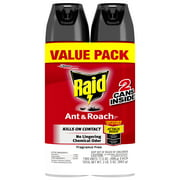 Raid Ant & Roach Killer Fragrance Free (17.5 Ounces, 2 count)