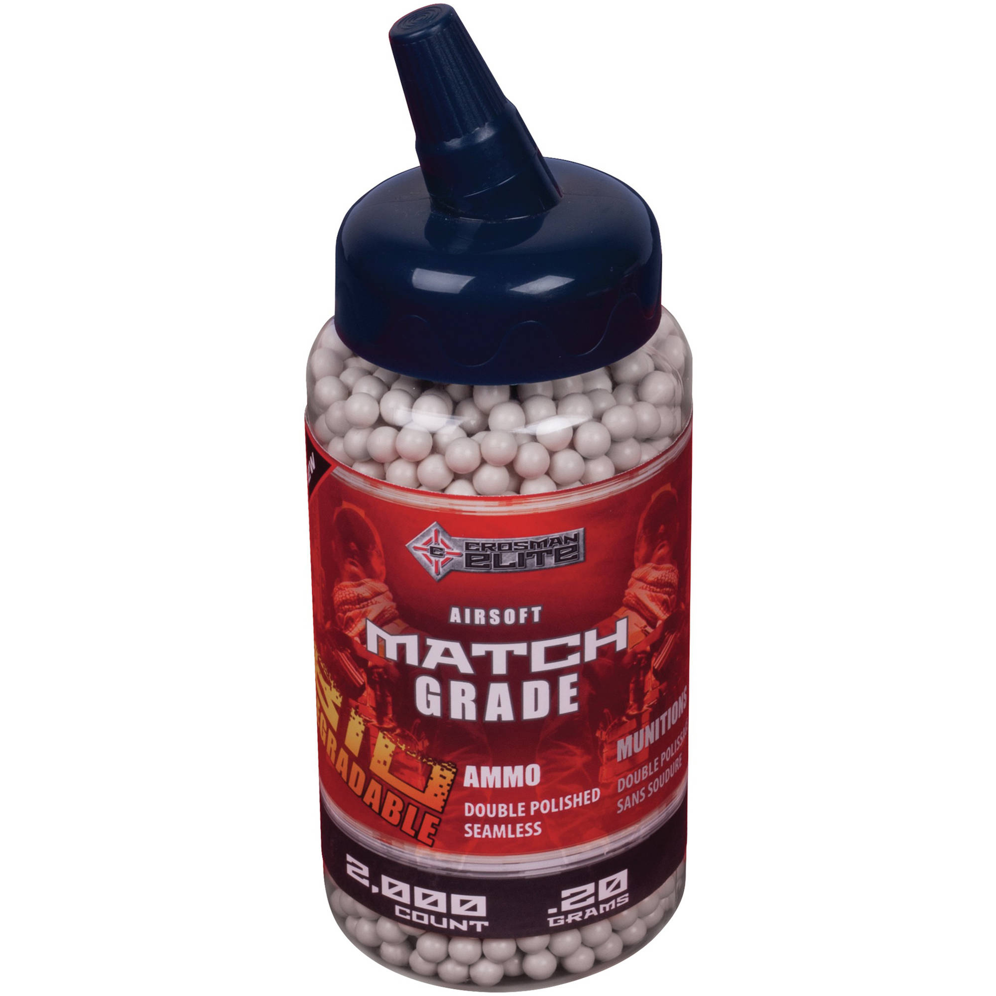Crosman Soft Air Bio 2000ct Heavy Ammo