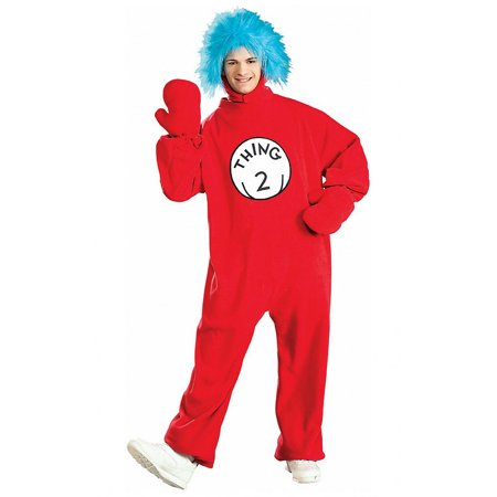 Thing 2 Adult Costume from Cat in the Hat Dr. Suess 16598](Dr Seuss Cat In The Hat Costume)