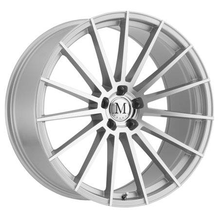 Mandrus Stirling 19x9.5 5x112 +50mm Silver/Mirror Wheel (Mandrus Wheels Rims)