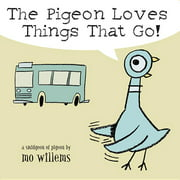 Pigeon Loves Things That Go (Board Book)