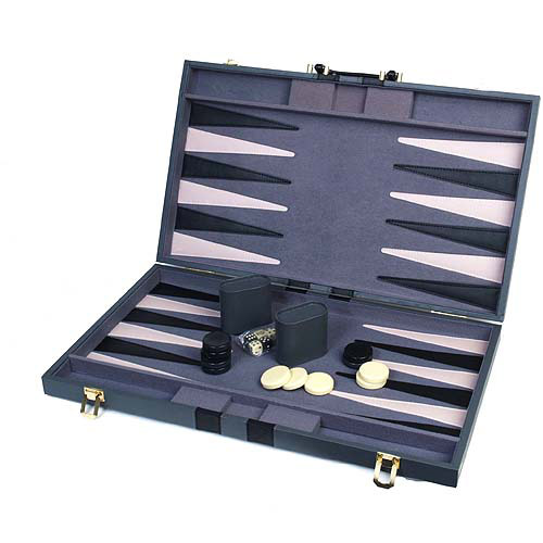 "Classic Games Collection 18"" Attache Backgammon Set"