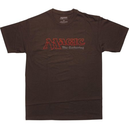 Terraria Magic Items (Magic The Gathering Logo Brown)