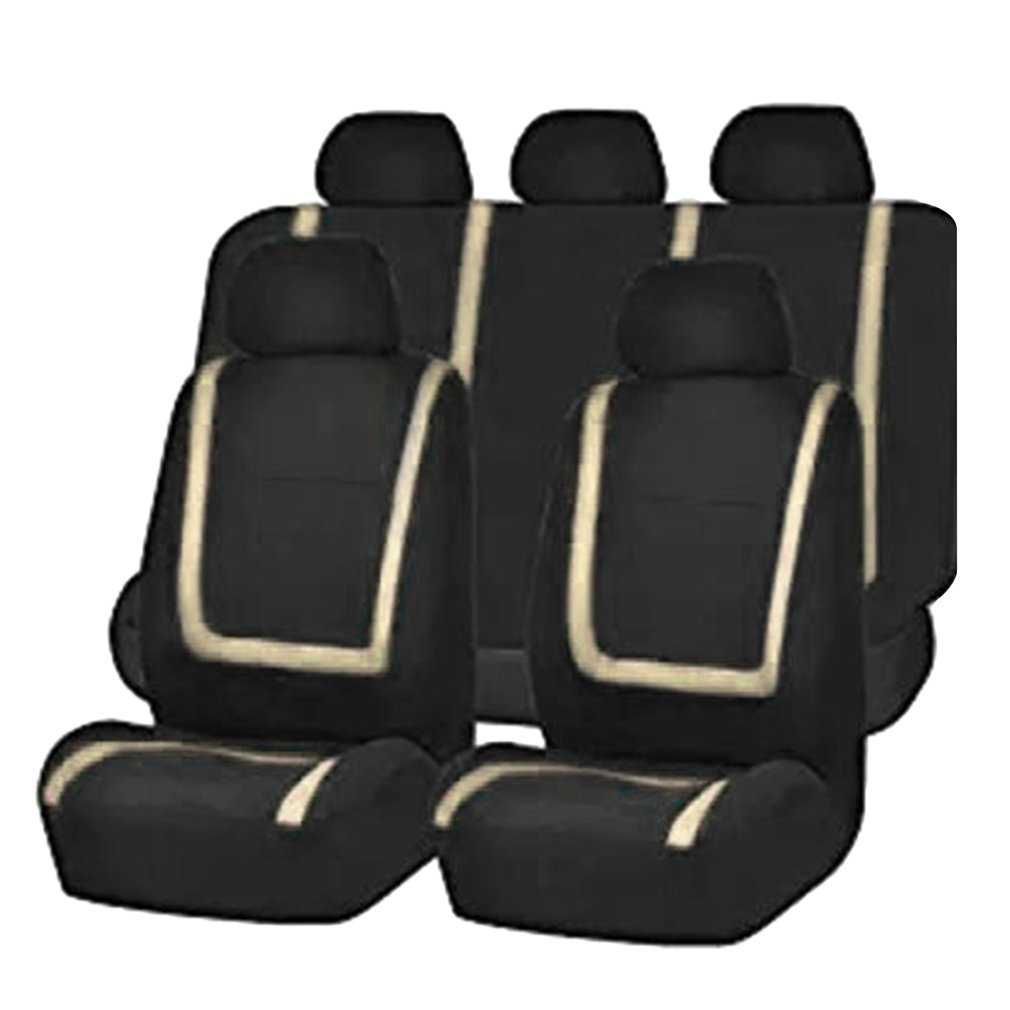 2018 Thanksgiving,9pcs Detachable Washable Auto Seat Covers Universal Vehicle Protective Covers