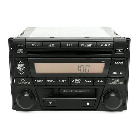Mazda 2001-03 Miata OEM Original CD with Cassette Radio NC72669R0 Face Code 1167 - (Mazda Miata 25th Anniversary Edition For Sale)