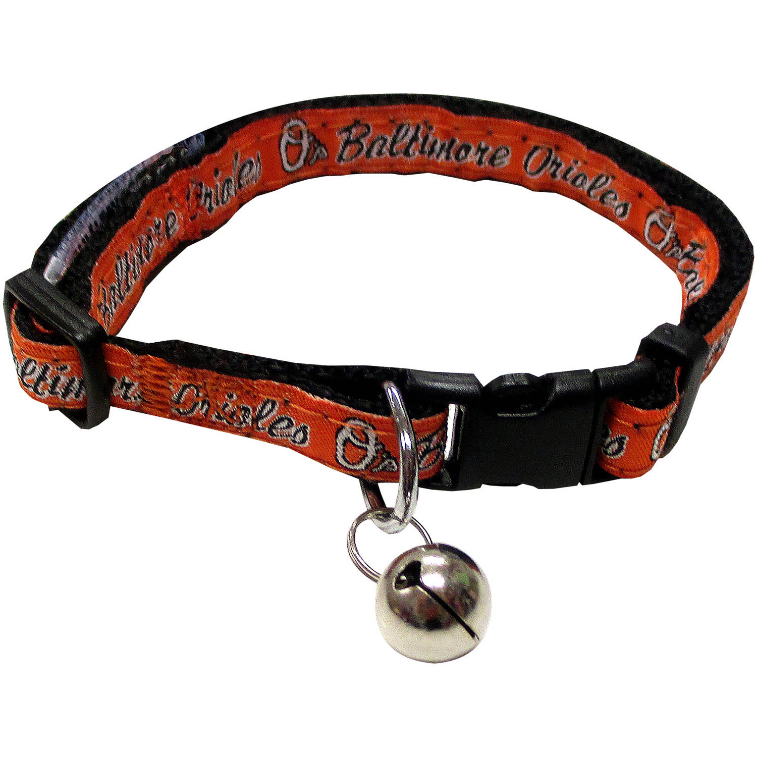 Pets First MLB Baltimore Orioles Cat Collar by Pets First
