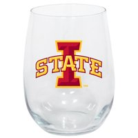 Iowa State Cyclones 15oz. Stemless Wine Glass - No Size