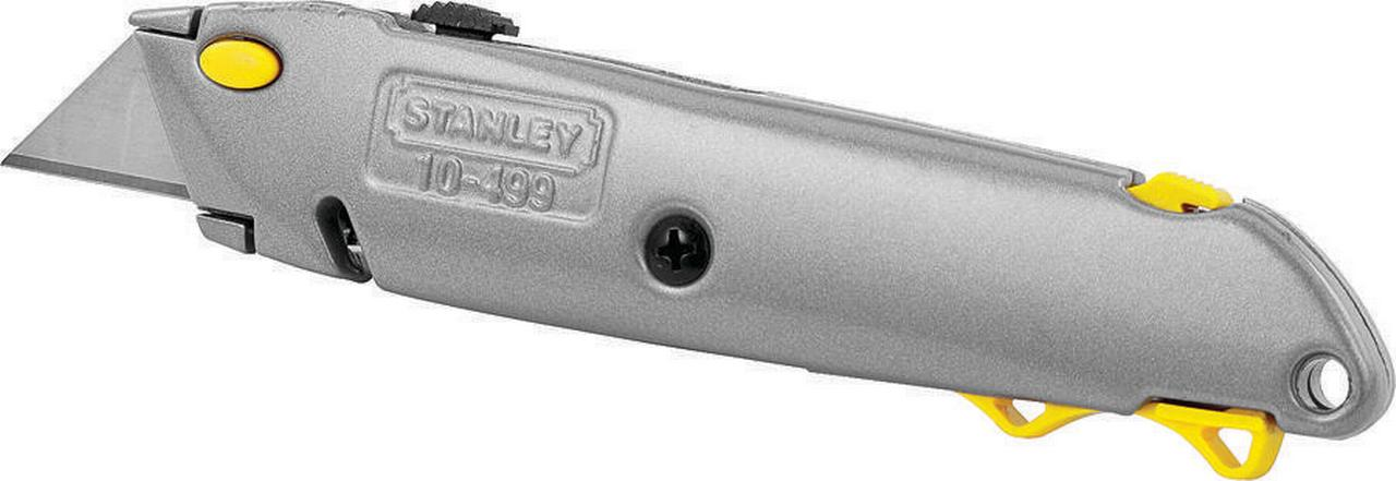 STANLEYxc2xae 10-499 Quick-Change Utility Knife w Retractable Blade by STANLEY BOSTITCH
