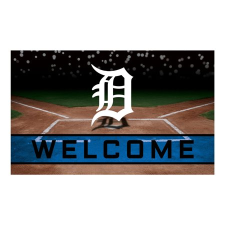 Detroit Tigers Crumb Rubber Door (Mat Tiger)