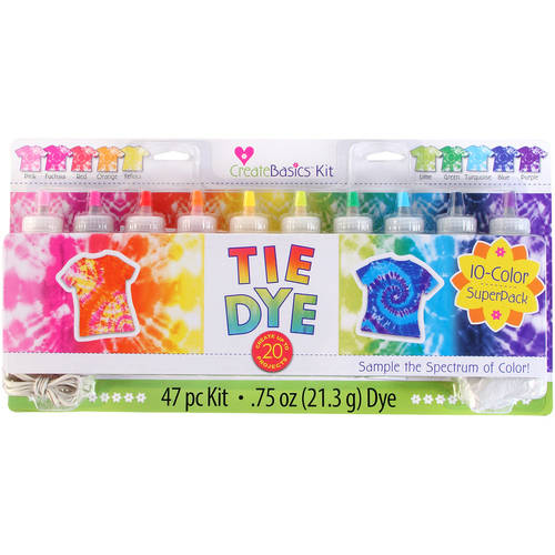 Create Basics 10-Color Tie Dye Kit