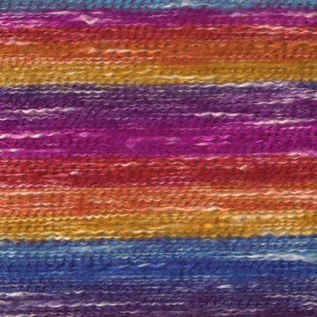 Lion Brand 828-201 Ch-le dans un fil de balle - arc-en-ciel reposant - image 2 de 3