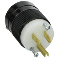 Marinco 5266 15 Amp 125 Volt, 2 Pole-3 Wire, Straight Blade Plug - 5266