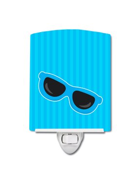 Beach Sunglasses Ceramic Night Light