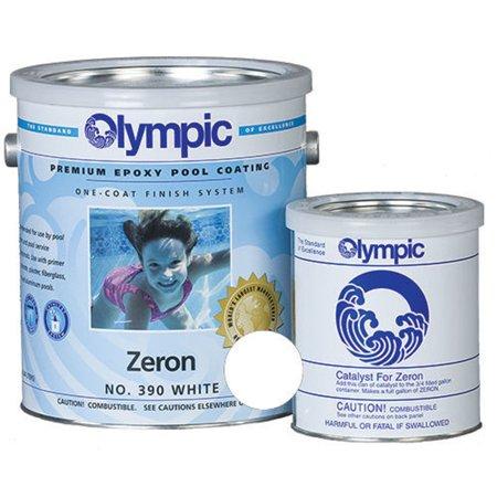 (Kelley Technical 390GL Olympic Zeron Epoxy Pool Coating - White 390-GL)