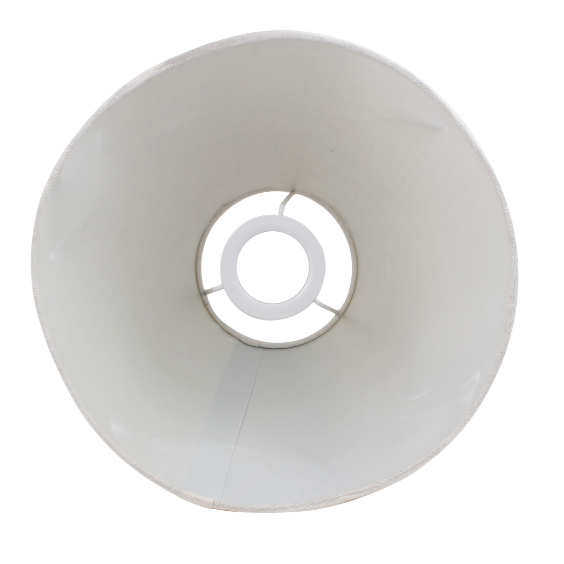 110mm x 260mm x 180mm Creamy-white Fabric Shell Lamp Shade for Reading Lamp - image 1 of 2