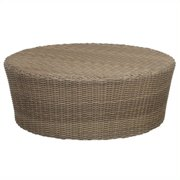 Sunset West Coronado Round Coffee Table in Driftwood