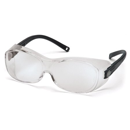 Ots Eyewear Clear Anti-Fog Lens, Black Frame, Price For: Each X-Ray Detectable: No Metal Detectable: No Photochromatic Lens: No Safety Glasses Size:.., By Pyramex Safety](Xray Glasses)