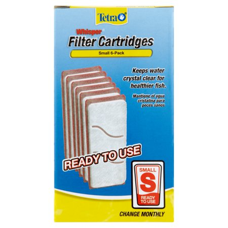 Tetra Whisper Small Filter Cartridges  6 Ct