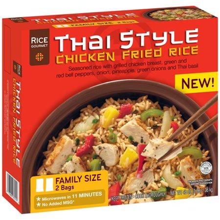 Rice Gourmet Thai Style Chicken Fried Rice, 48 oz - Walmart.com