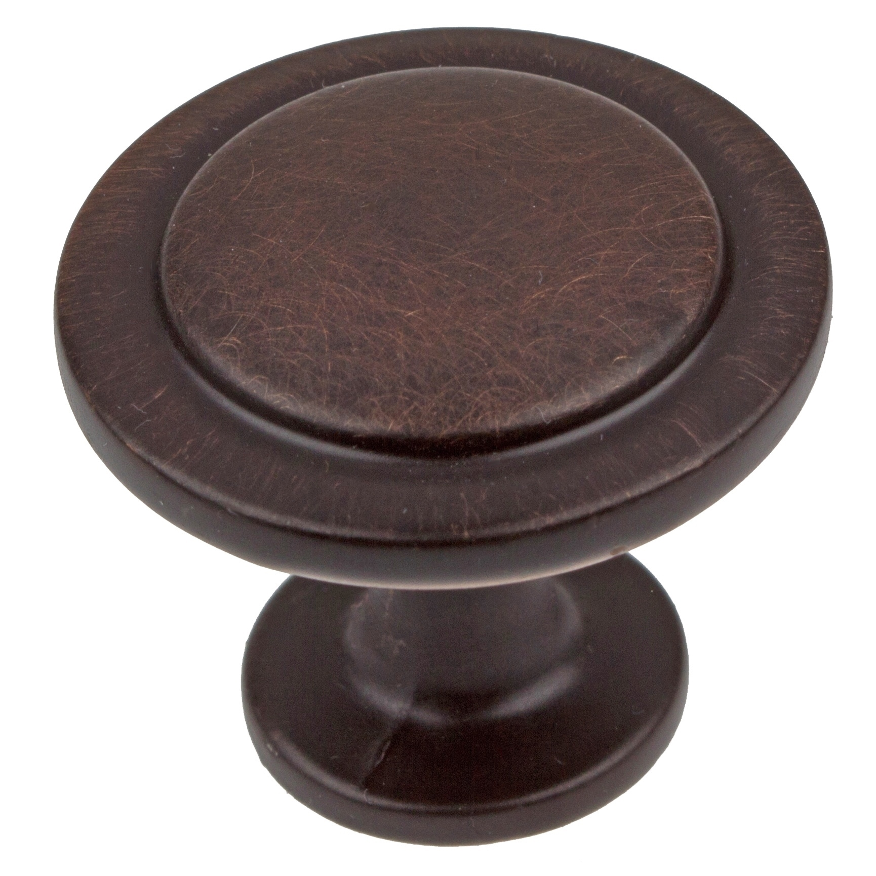 GlideRite  1.25-inch Oil Rubbed Bronze Classic Round Ring Cabinet Knob (Pack of 10 or 25)