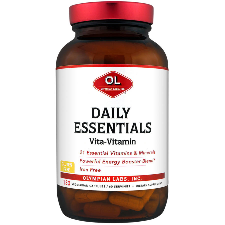 Olympian Labs Daily Essentials Vita-Vitamin Dietary Supplement, 180 count