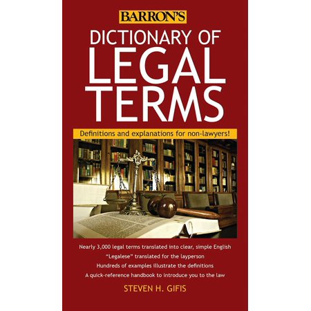 Dictionary of Legal Terms : Definitions and Explanations for (Best Definition Of Research)