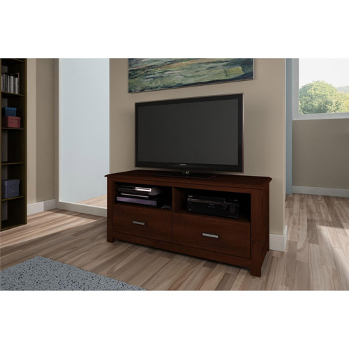 Ameriwood Resort Cherry TV Stand for TVs up to 55