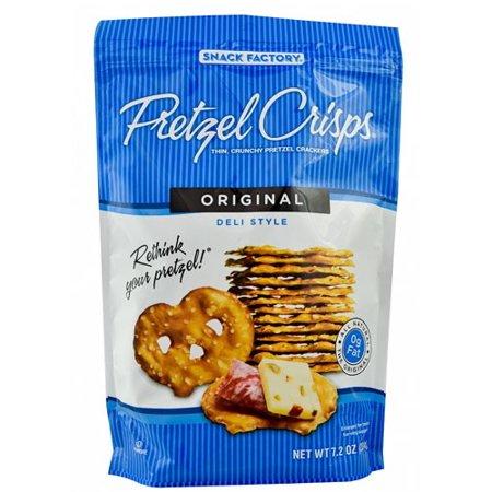 Snack Factory Pretzel Crisps Original  7 2 Oz