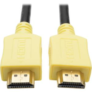 Tripp Lite 6ft High-Speed HDMI Cable with Digital Video and Audio, Yellow