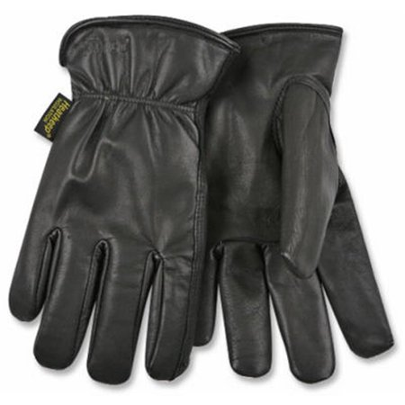 Heatkeep 93HK-XL Driver Gloves, XL, Goatskin Leather, Black - Goatskin Leather Driver