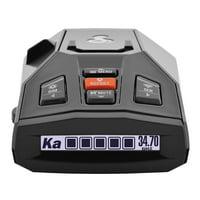 Cobra iRAD Connected Laser & Radar Detector w/ Live Streaming Alerts from the Cobra / ESCORT Driver Network (0180003-1)