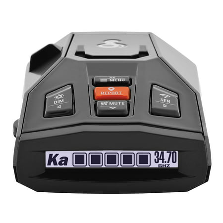 Cobra iRAD Connected Laser & Radar Detector w/ Live Streaming Alerts from the Cobra / ESCORT Driver Network