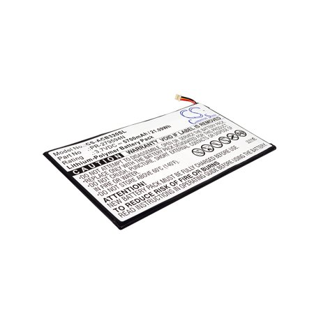 Cameron Sino 5700mAh Battery for Acer Iconia One 10 B3-A20, Iconia Tab 10 A3-A40, A5008, Iconia One 10 (Acer Iconia One 10 B3 A40 K7jp)