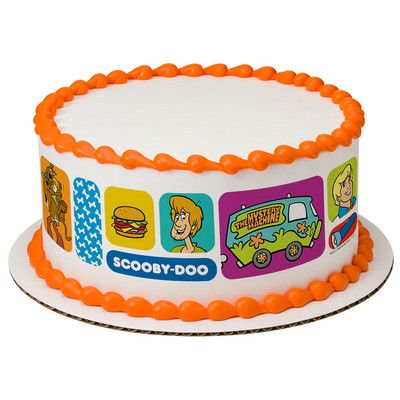 Scooby Doo Where Are You Edible Cake Border Decoration